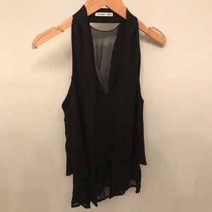 Zara Back Sleeveless Blouse